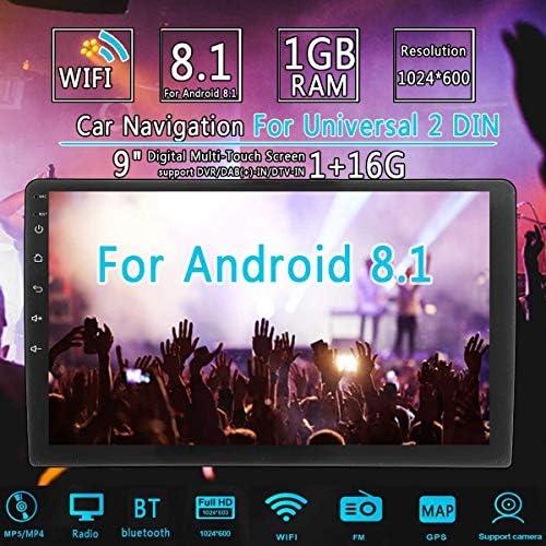 Toogoo 2 Din 9 Zoll Android 8 0 Universal Auto Radio Doppel Din Stereo Gps Navigation Im Dash Video Wifi Usb Auto Radio Multimedia Spieler Mit Kamera Auto