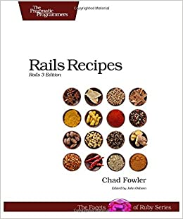 Rails Recipes 3 Edition Ingls Tapa Blanda 13 Abr 2012