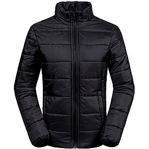 Wantdo Women's 3-In-1 Waterproof Ski Jacket Windproof Puff Liner Winter Coat Black US XX-Large