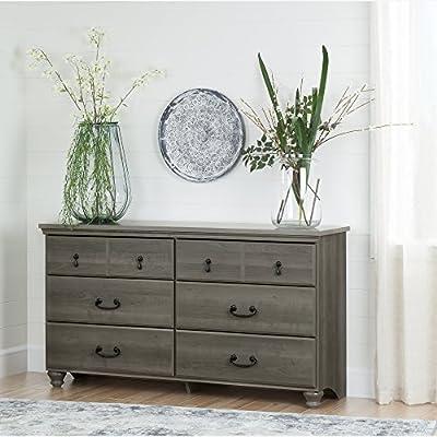 South Shore Noble 6-Drawer Double Dresser-Parent