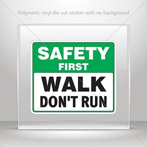 Pegatinas de seguridad para primera Walk Don t Run Tablet ...