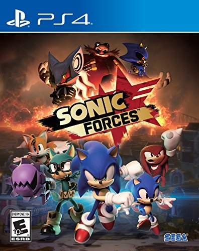 Sonic Forces Standard Edition   Playstation 4