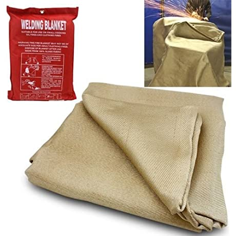 Generic O 8 O 1535 O Ive Fab Welder Blanket Cover R Prote Resistant Welding Lanket 4 X 6 Ing Wel Protective Fabric Gear Resista Heat Fire HX US5 16Mar28 180