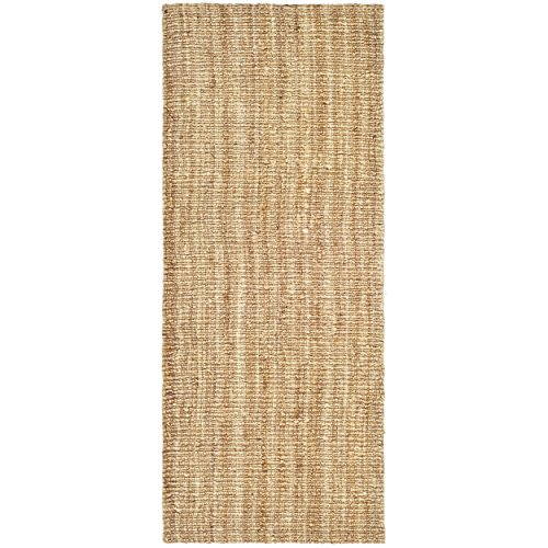 Safavieh Natural Fiber Collection NF447A Hand Woven Natural Jute Runner (2' x 6') by Safavieh (Image #1)