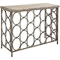 Deco 79 18151 Metal Wood Console Table, 43 x 33