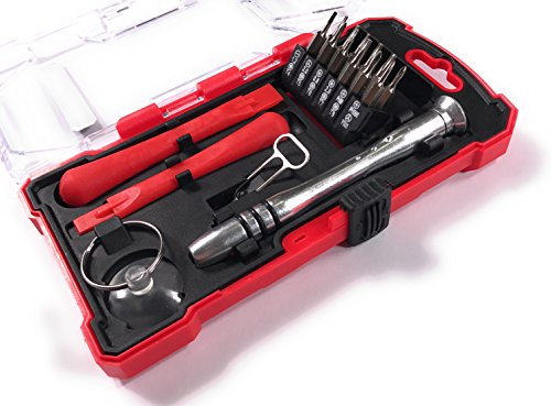 Bonafide Hardware - Smart Phone Repair Tool Kit 17 Piece Set Screw Driver Torx Pentalobe Cell Tools by Bonafide Hardware (Image #2)