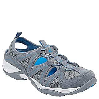 Easy Spirit Women's Earthen Walking Shoes Medium Gray 8.5 M
