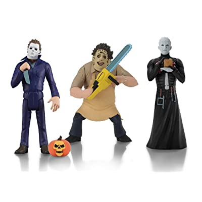 NECA Toony Terrors: Series 2 Pinhead, Leatherface, Michael Myers 6 Inch Figure Assortment: Toys & Games