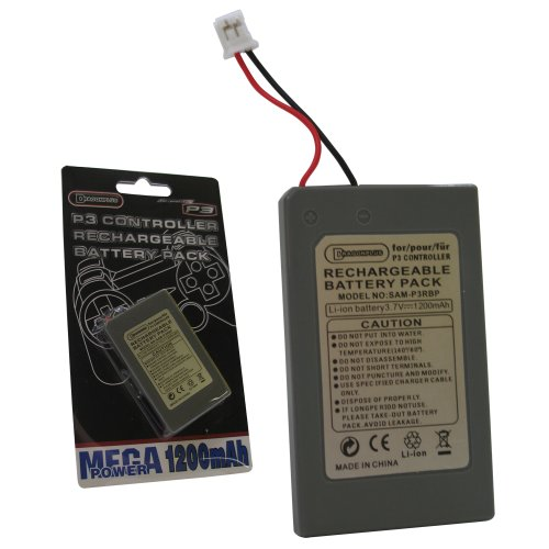 PS3 Controller Rechargeable Battery Pack