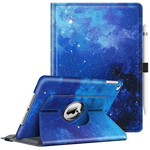 کیف چرمی Fintie برای آی پد ۹/۷ اینچی اپل مدل iPad Air 1&2 نسل ۵ و ۶ (۲۰۱۷ و ۲۰۱۸)