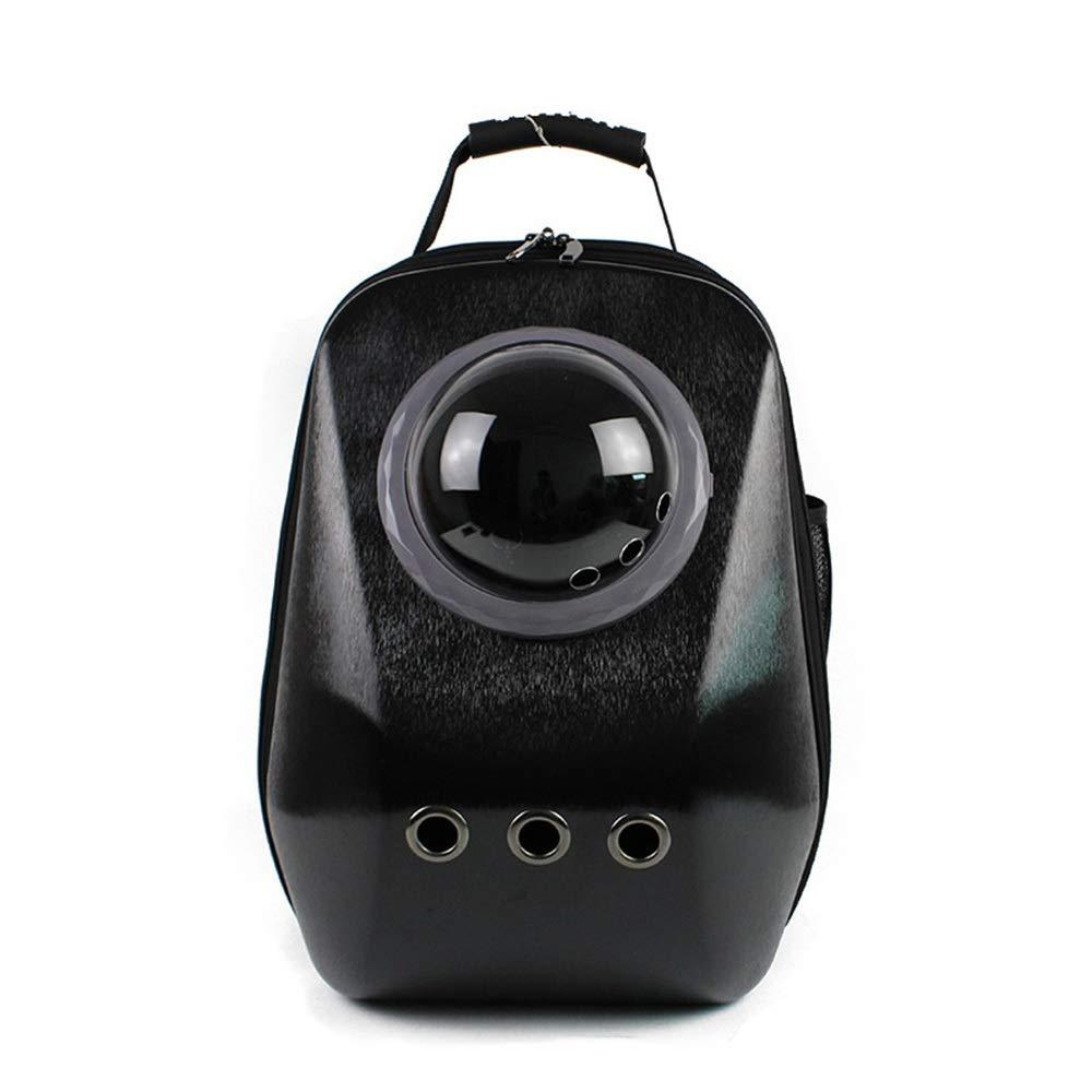 Black 47CM29CM35CMMISSKERVINFENDRIYUN Space Pet Cabin Bag Out Portable Breathable Dog Cat Backpack (color   Red, Size   47CM29CM35CM)