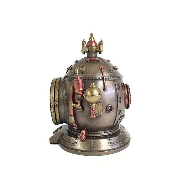 Steampunk Time Machine Clock & Trinket Box Statue 5
