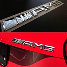 New Style 3D For Mercedes-Benz ///AMG Emblem ABS Trunk Logo Badge Decoration Gift Decal