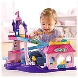 Fisher-Price Little People Disney Princess Klip Klop Stable Playset