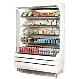 open display case refrigerators - Turbo Air TOM-40 Vertical Open Display Case Cooler Full