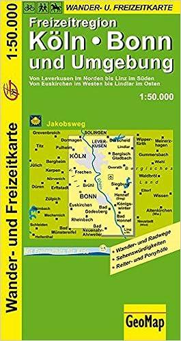 Geomap Karten Ka Ln Bonn Und Umgebung Wander Und Freizeitkarte