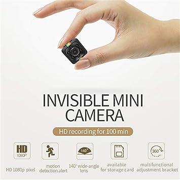 ehind Mini Camara Espia Oculta Videocámara 1080P con Visión Nocturna HD De Niñeras Seguridad para El Hogar Oficina Coche Casa Camaras De Seguridad Pequeña ...