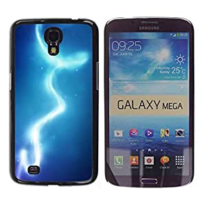 Paccase / SLIM PC / Aliminium Casa Carcasa Funda Case Cover para - Lights Blue Water Sky - Samsung Galaxy Mega 6.3 I9200 SGH-i527