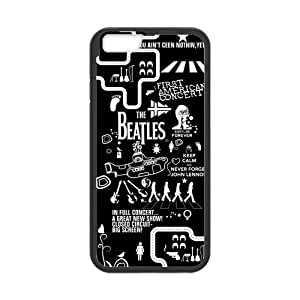 Cyber Monday Store Customize Rubber The Beatles Back Cover TPU Case for 4.7