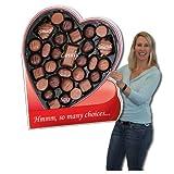 huge chocolate - 2' x 3' Box of Chocolates HUGE Valentine's Day Card w/Cardboard Envelope