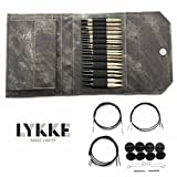 Lykke Driftwood Interchangeable Gift Set in Grey Denim Pouch