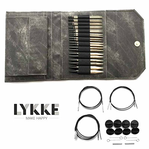Lykke Driftwood Interchangeable Gift Set in Grey Denim Pouch by Lykke