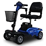 EV Rider MiniRider MiniRider 4 Wheel Travel Scooter (Blue) by EV Rider