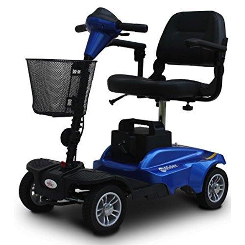 EV Rider MiniRider MiniRider 4 Wheel Travel Scooter (Blue) by EV Rider