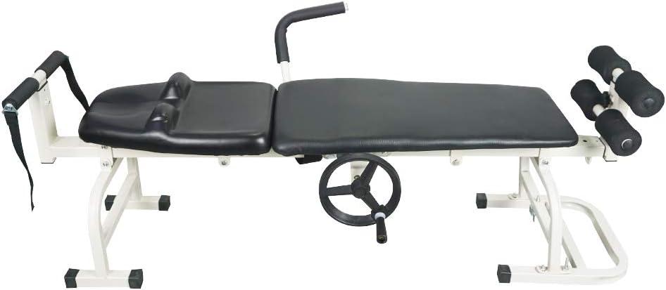 セラピーマッサージベッドフルボディストレッチングデバイステーブル頸椎腰椎牽引ツール