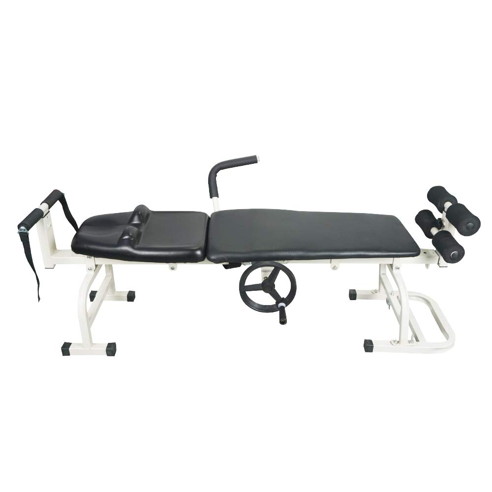 Fisters Massage Bed Table Cervical and Lumbar Traction Bed Body Stretching Relaxing