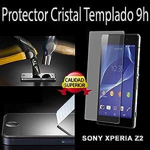 Protector de cristal templado para Sony Xperia Z2 0.2 mm / Tempered Glass Protection Screen