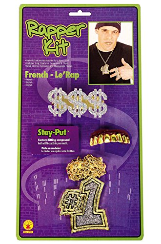 The Rapper Game Halloween Costume (Rubie's Costume Co Rapper Kit Costume)