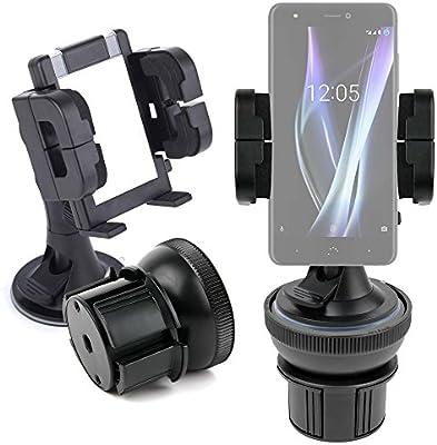 DURAGADGET Soporte De Coche para Smartphone BQ Aquaris X | X Pro + ...