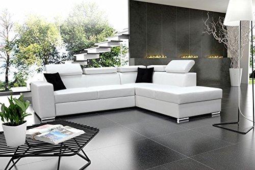 Eckcouch Modern ecksofa colin mit schlaffunktion eckcouch sofagarnitur modern