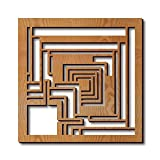 Frank Lloyd Wright Ennis Block Hardwood Trivet