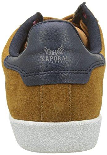 Basses Homme Jaune cognac Kaki Baskets Kaporal OwY0C