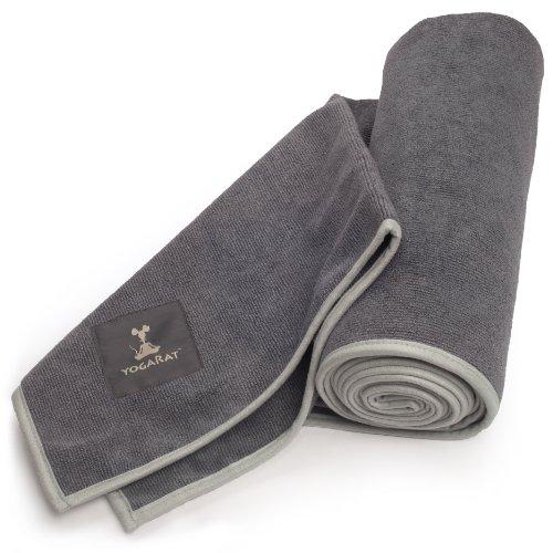 YogaRat Hot Yoga Towels: 3 mat sizes and hand size