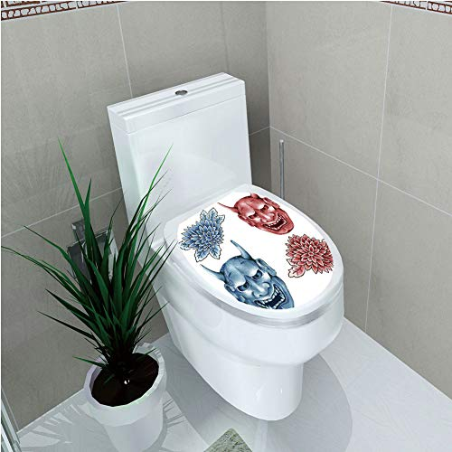 Used, Toilet Sticker 3D Print Design,Kabuki Mask Decoration,Different for sale  Delivered anywhere in USA
