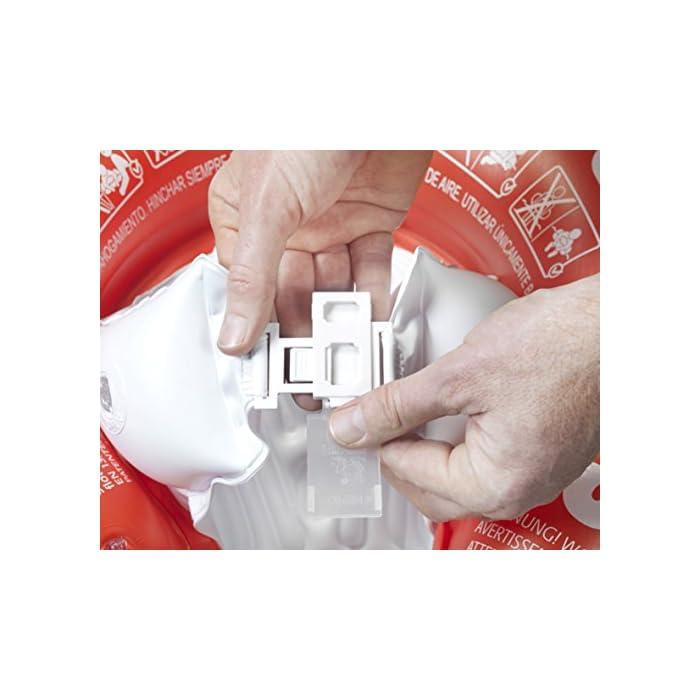 51kcs7YBX3L Fabricado en un fuerte PVC Ofrece una posición ideal en el agua Las almohadillas (blocs) inflables evitan resbalones o deslizamientos