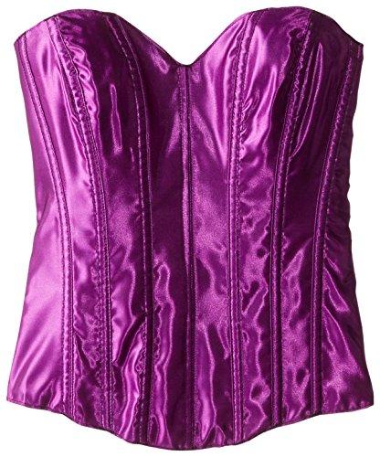 (Escante Women's Tesa Sweetheart Corset, Purple Magic,)