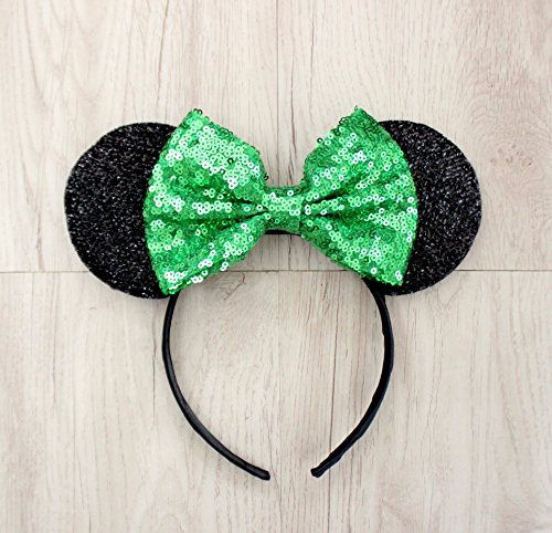 Tinker Bell Mickey Ears, Tinker Bell Ears, Tinker Bell Minnie Ears, Green Mickey Minnie ears -