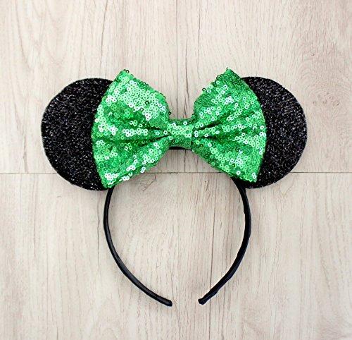 Tinker Bell Mickey Ears, Tinker Bell Ears, Tinker Bell Minnie Ears, Green Mickey Minnie ears (Tinkerbell Gift)