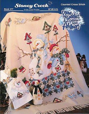 Snow Buddies Afghan - Cross Stitch Pattern (Afghan Cross Stitch Patterns)