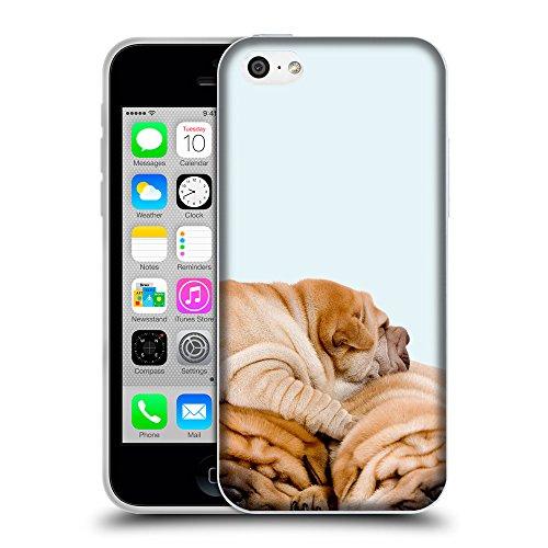 GoGoMobile Coque de Protection TPU Silicone Case pour // Q05540619 3 shar pei bolle // Apple iPhone 5C