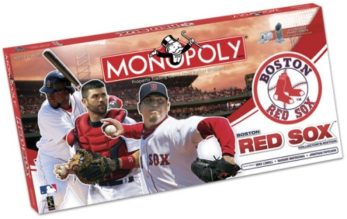 Usaopoly Boston Red Sox 2008 Collector'S Edition Monopoly - Usaopoly Collectors Toy