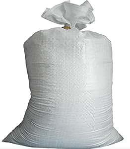 PP tejido bolsas–Bolsas de cereales–Sacos de cargas pesadas–Sacos de cosecha–Sacos de madera–50Unidades