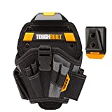 ToughBuilt - Drill Holster - Large - Multi-Pocket Organizer, Heavy Duty, 13 Pockets, 7 Drill Pockets & 2 Screw Driver Loops (Patented ClipTech Hub & Work Belts) (TB-CT-20-L)