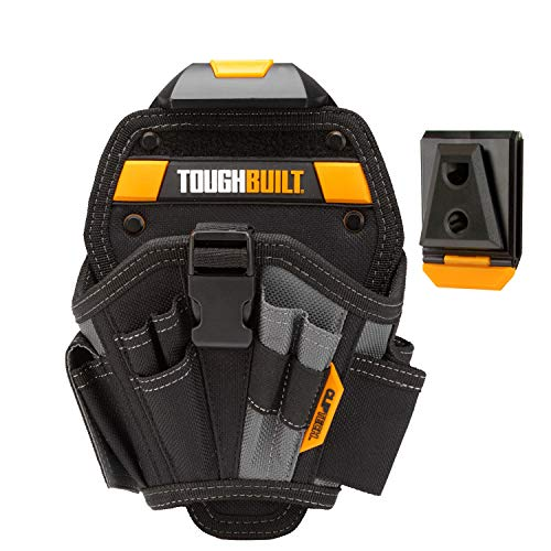 ToughBuilt - TB-CT-20-L, Cliptech, Technician 6-Pocket Pouch - Large