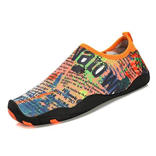 (Enly Quick Dry Water Shoes Mens Womens Beach Swim Shoes Quick-Dry Aqua Socks Pool Shoes Surf Yoga)