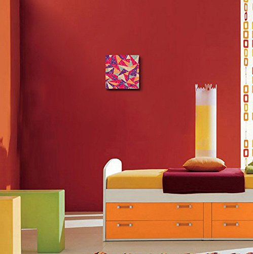 Abstract Geometric Colorful Mosaic Pattern Wall Decor